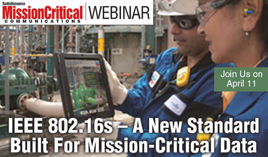 Mission Critical Webinar sponsored by Ondas